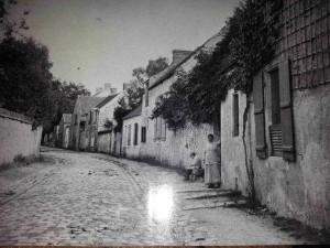une des plus vieille photographie de la Grande Rue